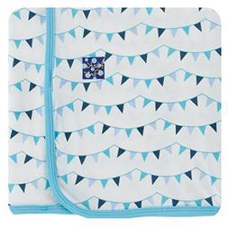KicKee Pants Little Boys Print Swaddling Blanket - Confetti
