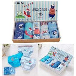 Little Kids Boys' Cotton Underwear Toddler Briefs 2T-5T 5-Pa