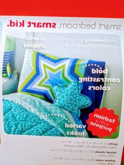 LITTLE MISS MATCHED SUPERSTAR QUILT SHEET PILLOW 4PC TODDLER