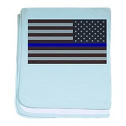 CafePress - Blue Lives Matter - Baby Blanket, Super Soft New
