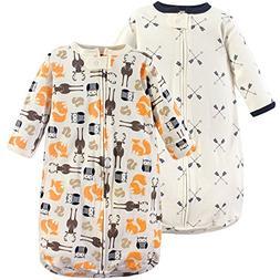 Hudson Baby Baby Long Sleeve Cotton Safe Wearable Sleeping B