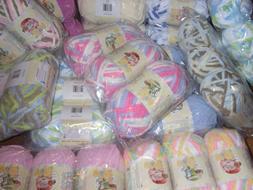 lot of 3 skeins baby blanket yarn