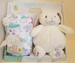 Little Miracles Little Lovables Soft Plush Blanket and Hugga