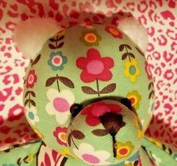 VERA BRADLEY LOVEY BUNNY in TUTTI FRUTTI~SECURITY BABY BEAR