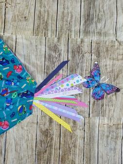 Lovey Disney Junior PJ Masks Cotton Fabric -Friends Blanket
