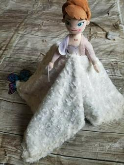 Lovey Frozen 2 Anna Plush Security Blanket for Babies & Todd