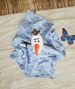 Lovey Frozen 2 Olaf Plush Security Blanket for Babies & Todd