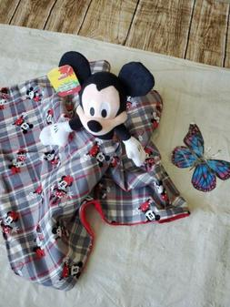 Lovey Mickey mouse Plush Security Blanket for Babies & Toddl