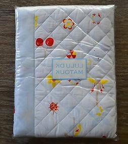Matouk Lulu DK Sandbox Quilted Crib Baby Blanket, Egyptian C