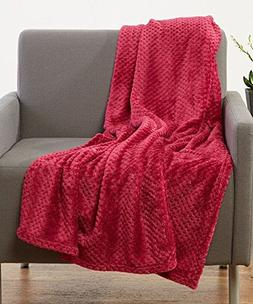 "Luxurious Softness Extra Comfy Velvet Throw Blanket, 50""x60"""