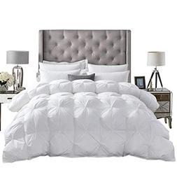 Luxurious All-Season Goose Down Comforter Queen Size Duvet I