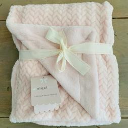 New Mon Lapin Luxury Baby Blanket with Sherpa Lining Diamond