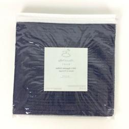 Peacock Alley Luxury Baby Blanket Navy Blue Egyptian Cotton