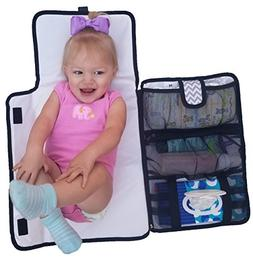 Luxury All in One Portable / Travel Diaper Changing Pad / Ma