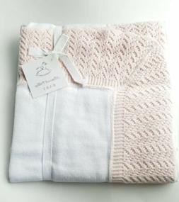 luxury pink baby blanket cotton lace 30