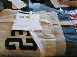 Pottery Barn Major League Baseball Full queen Patchwork Nati