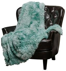 Chanasya Marble Pattern Shaggy Sherpa Throw Blanket for Bed