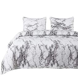 5dbf97a9464e Wake In Cloud - Marble Quilt Set