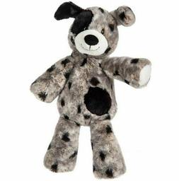 MARY MEYER MARSHMALLOW ZOO PLUSH ASHER PUPPY DOG GREY & BLAC