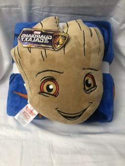 Marvel Guardians of the Galaxy Baby Groot Nogginz Throw Blan