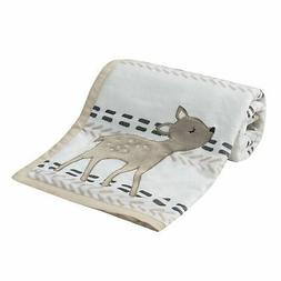 Lambs & Ivy Meadow Blanket, Cream