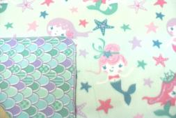 Mermaids Stars Baby Blanket Toddler Double Sided Can Persona
