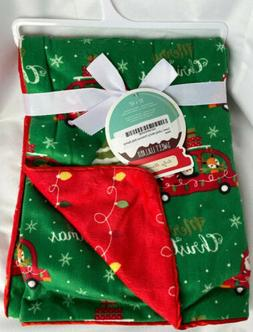 """Sweet Lullaby Merry Christmas Baby Blanket 30"""" x 40"""" Brushed"""