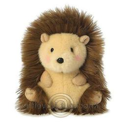 Merry Hedgehog Rolly Pet 5 inch - Stuffed Animal by Aurora P