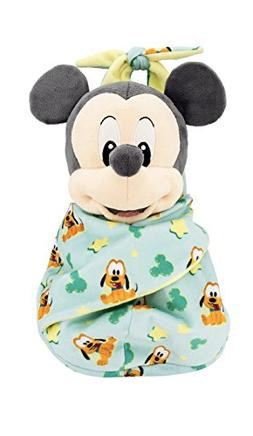 Disney Parks Baby Mickey Mouse in a Pouch Blanket Plush Doll
