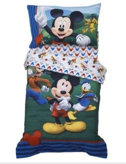 Disney Mickey Mouse & Friends Bedding Set  4 Pieces