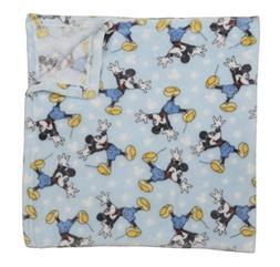 Mickey Mouse Baby Boy Fleece Blanket Disney NWT Baby Shower