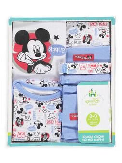 mickey mouse baby boys 6 piece layette
