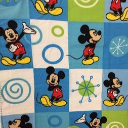 Disney Mickey Mouse Baby Fleece Blanket Blue 38x28