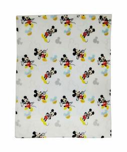 Disney Baby Mickey Mouse Blanket 1-Ply Flannel Fleece, Good