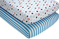 Disney Mickey Mouse Crib Sheet Set, 2 Count