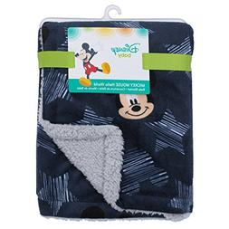 Disney Mickey Mouse Hello World Star/Icon Super Soft Double