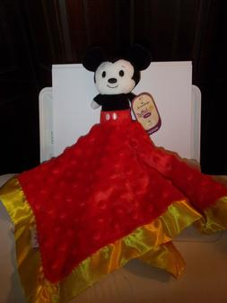 Hallmark Mickey Mouse Itty Bitty Baby Lovey Blanket