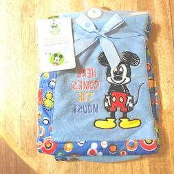 Disney Mickey Mouse Novelty Baby Blanket Fleece, gs70498
