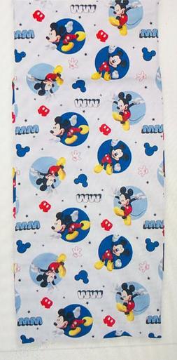 Disney Mickey Mouse Preschool Nap Mat Sheet, Blue