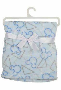 Disney Mickey Mouse Single Sided Flannel Fleece Blanket, Ico