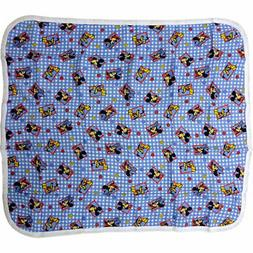 Disney Mickey Mouse Thermal Knit Receiving Baby Blanket 100%