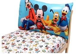 Mickey Mouse Toddler Bedding 2-Piece Toddler Sheet Set  - Di