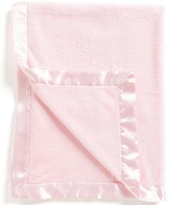 Elegant Baby Microfiber Blanket - Pink