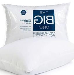 The Big One Microfiber Pillow Standard / Queen Size  White -