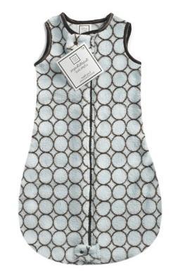 SwaddleDesigns Microfleece Sleeping Sack with 2-Way Zipper,