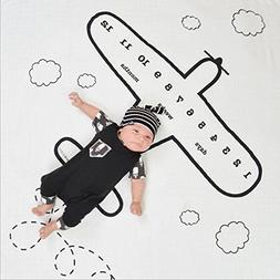 Baby Milestone Blanket Photography Props - Shoot Monthly Pho