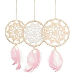 ling's moment Mini Dream Catchers Boho Wedding Party Favor,