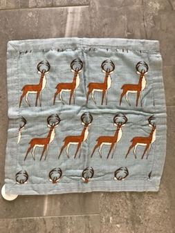 mini lovey baby blanket deer