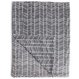 "Kids N' Such Minky Baby Blanket 30"" x 40"" - Herringbone - So"