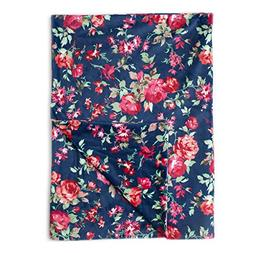"Kids N' Such Minky Baby Blanket 30"" x 40"" - Navy Floral - So"
